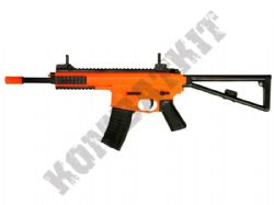 M307 Airsoft BB Gun Black and Orange